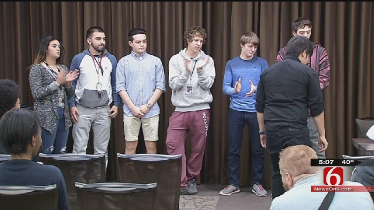Union Holds 'Signing Day' For Students Seeking Internships