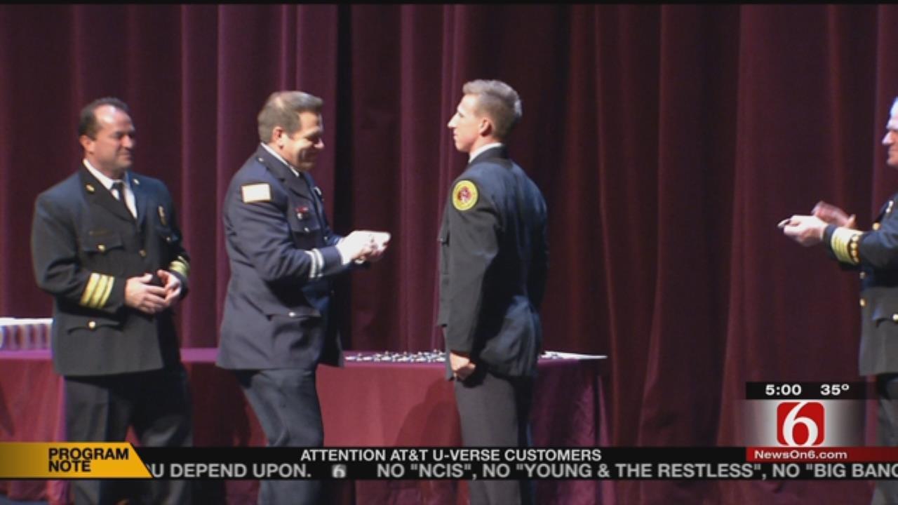 New Firefighters Join Tulsa Ranks
