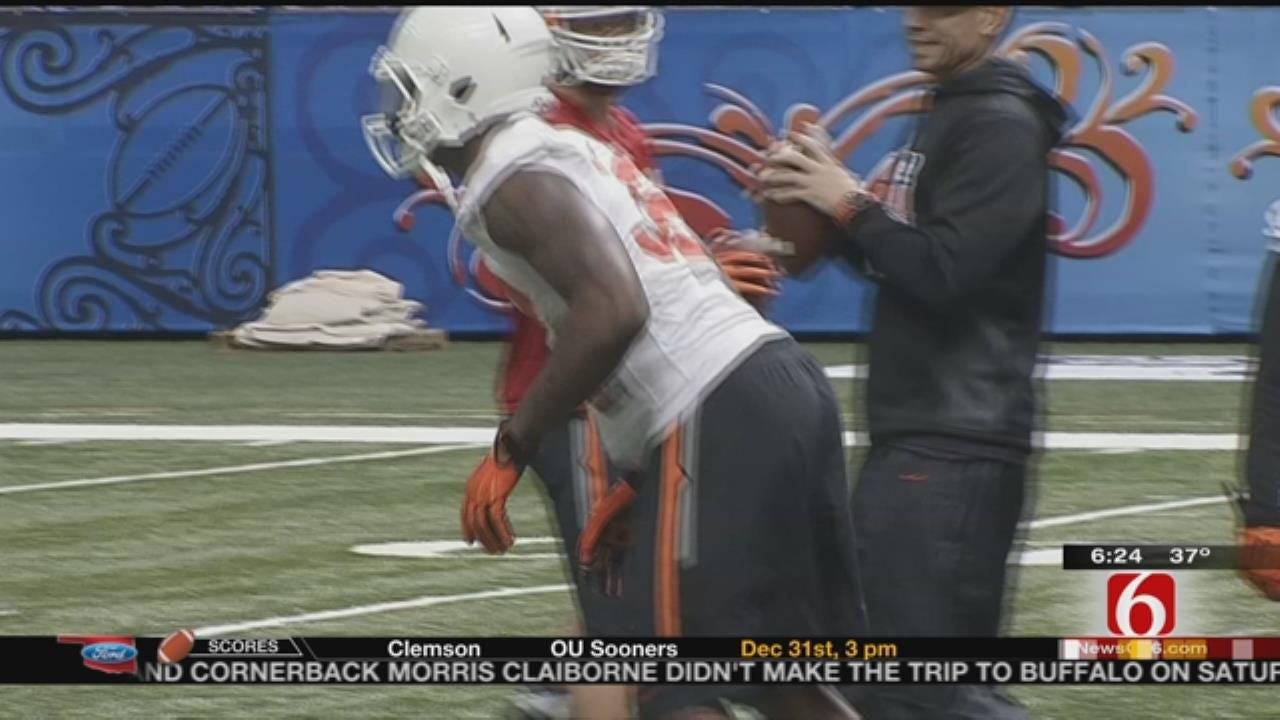 OSU, Ole Miss More Physical In Practice Heading Into Sugar Bowl