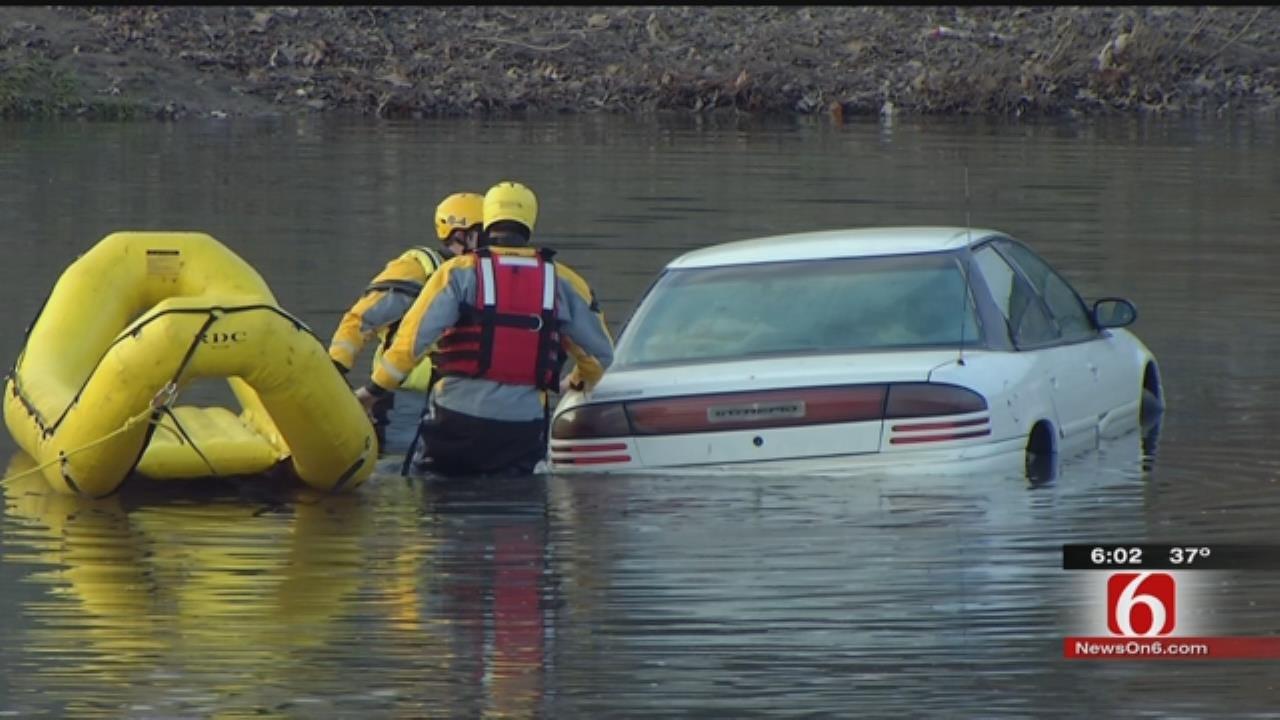 Volunteer Search Effort Key To Finding Man's Body In Tulsa Creek