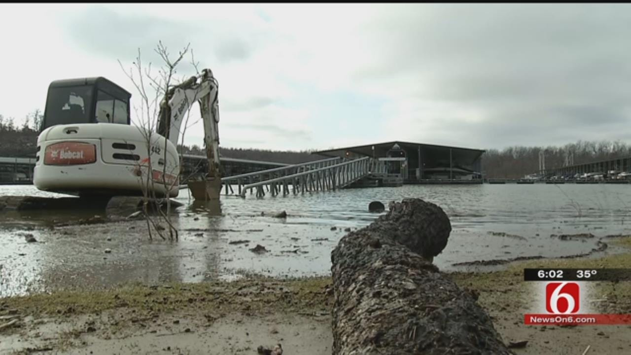 Skiatook Lake Levels, Business, On The Rise With Recent Rains