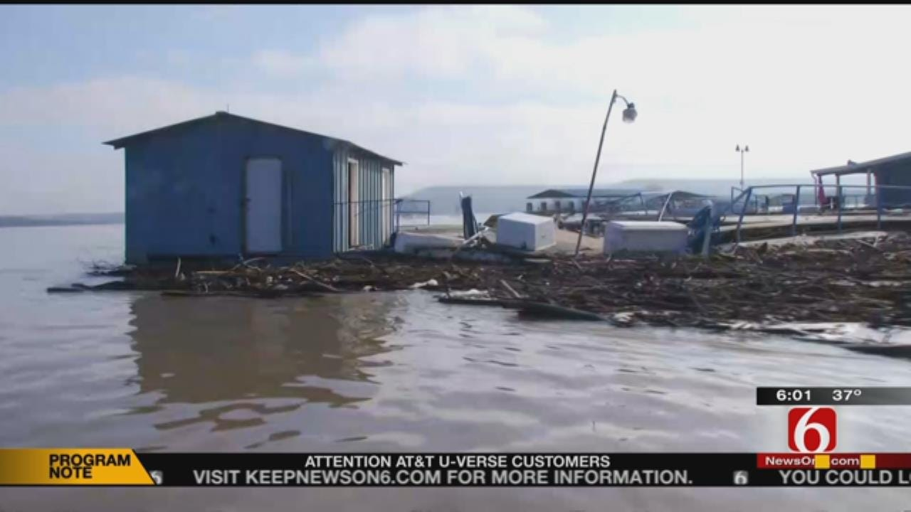 Marinas Near Fort Gibson Lake Dealing With Heavy Damage