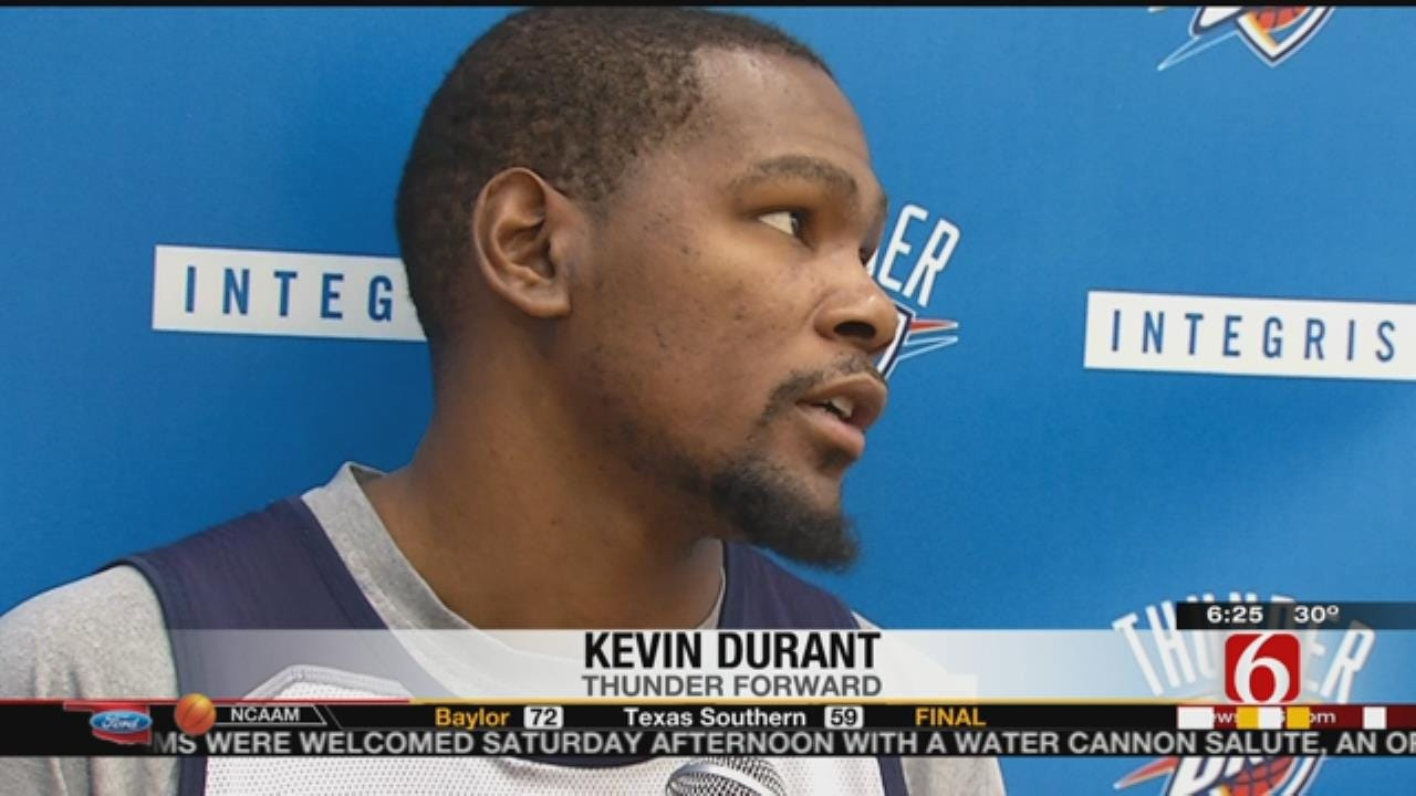 Durant: OKC Has To Play Strong Against The Bucks