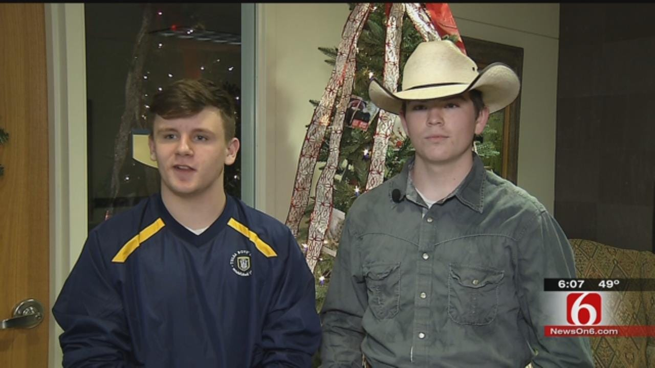 Donors Help Tulsa Boys Home Residents Have Merrier Christmas