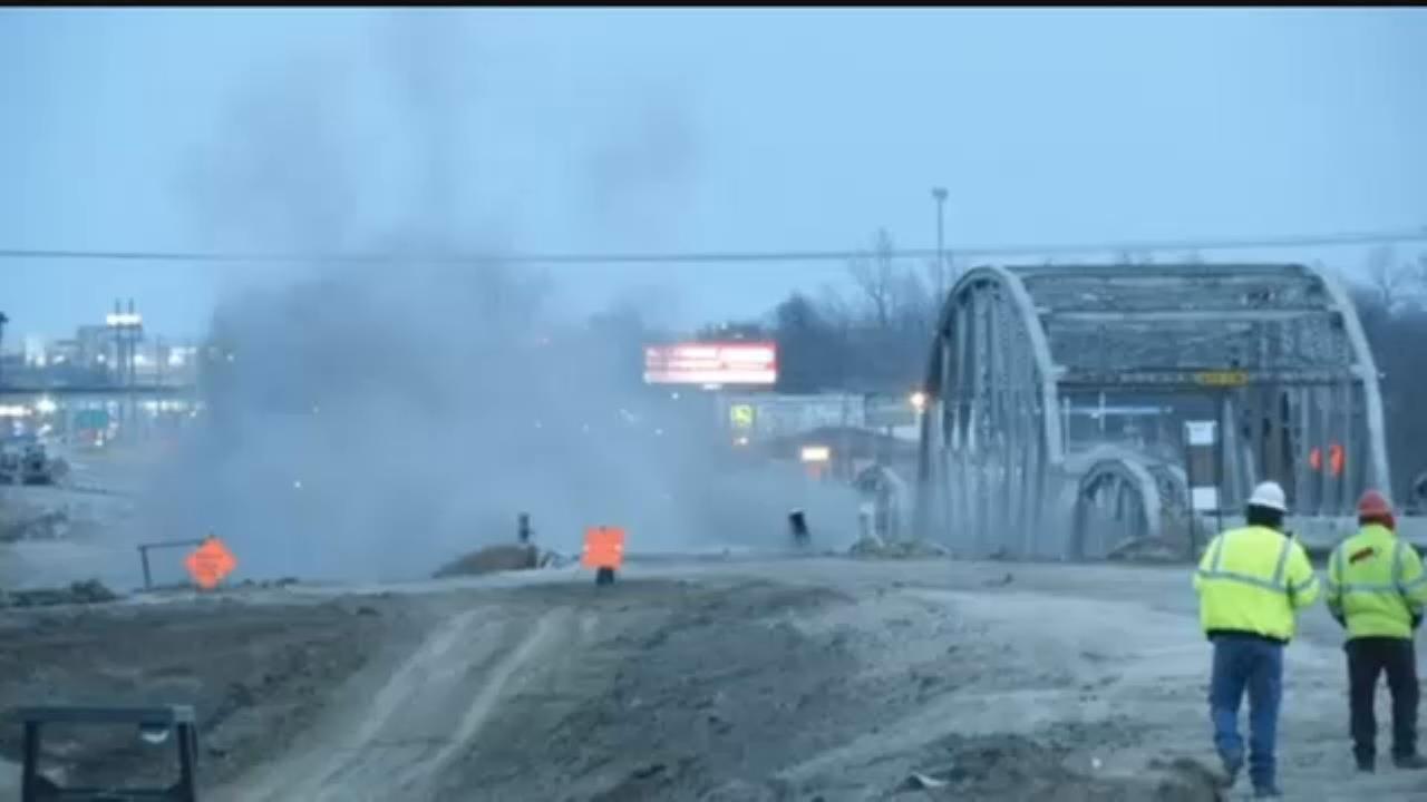 WATCH NOW: Bird Creek Bridge Implosion