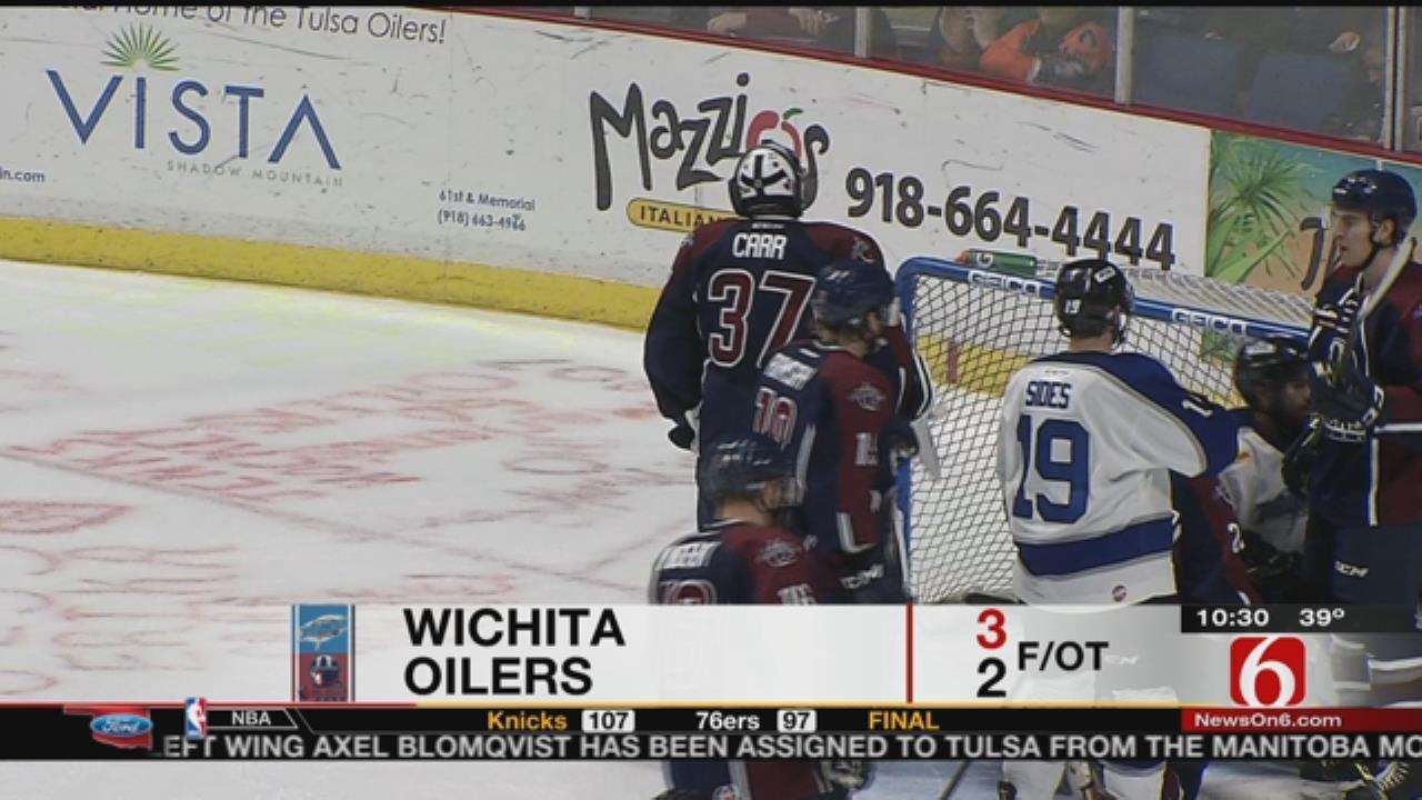 Oilers Rally Falls Short In OT Loss To Wichita
