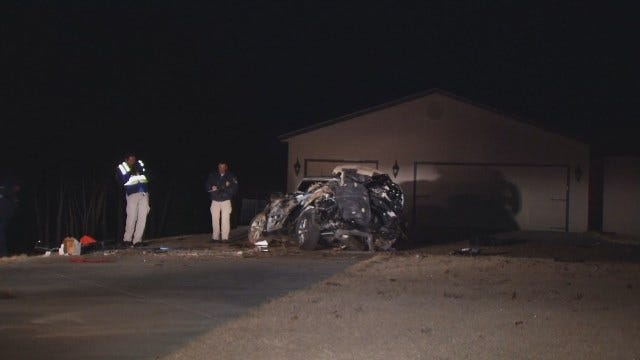 WEB EXTRA: Video From Scene Of Deadly Broken Arrow Crash