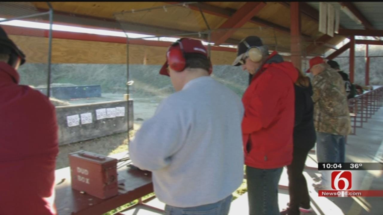 Gun Sales, Concealed Carry Classes On The Rise In Green Country