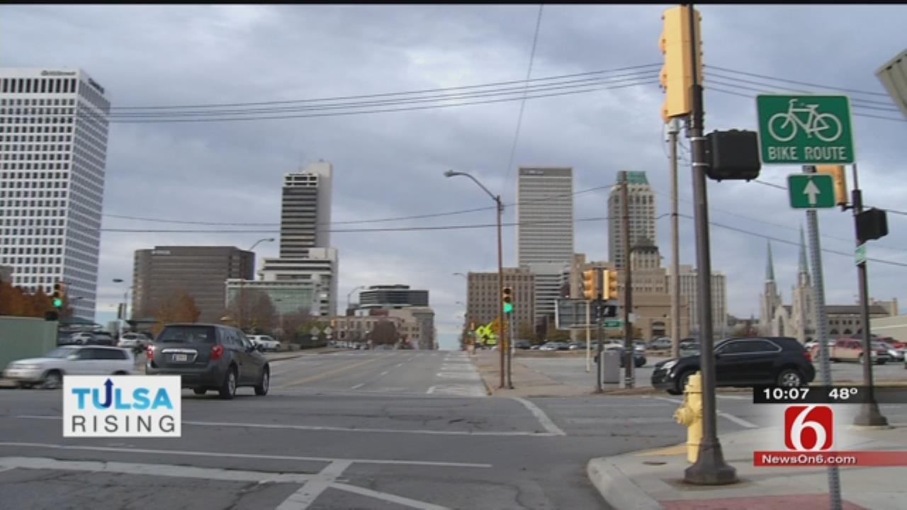Tulsa Bike Sharing Program Gaining Strength