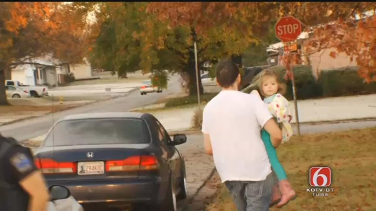 WEB EXTRA: Missing Tulsa Toddler Reunited With Family