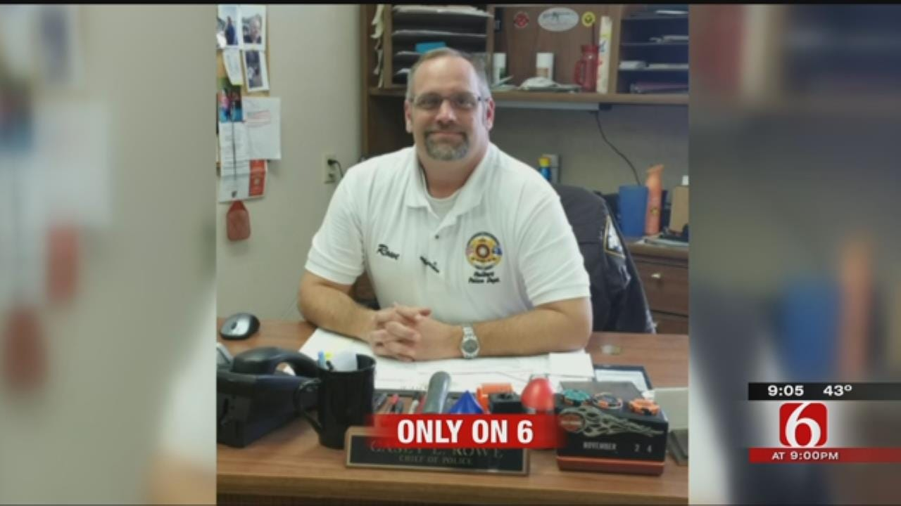 Hulbert Police Chief Overwhelmed By Support After Motorcycle Crash