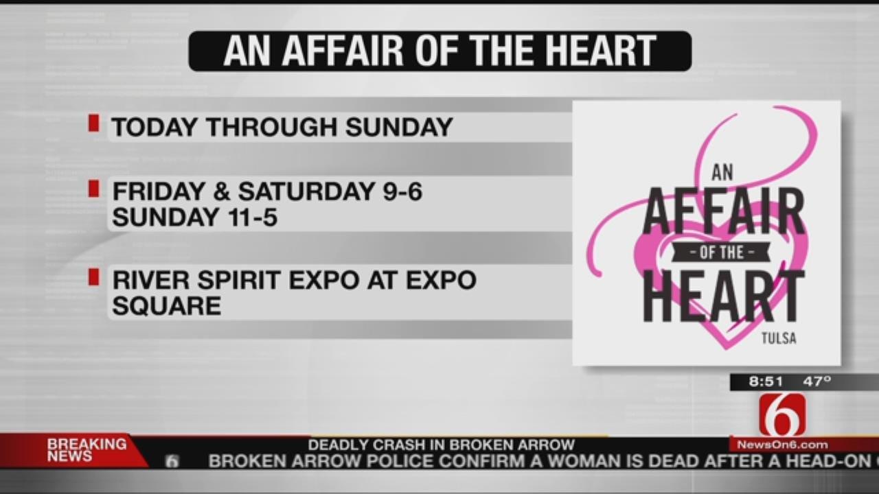 An Affair Of The Heart Tulsa Underway At Tulsa County Fairgrounds