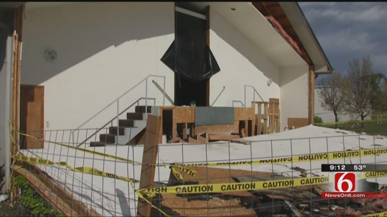 Church Renovates After Sand Springs Tornado