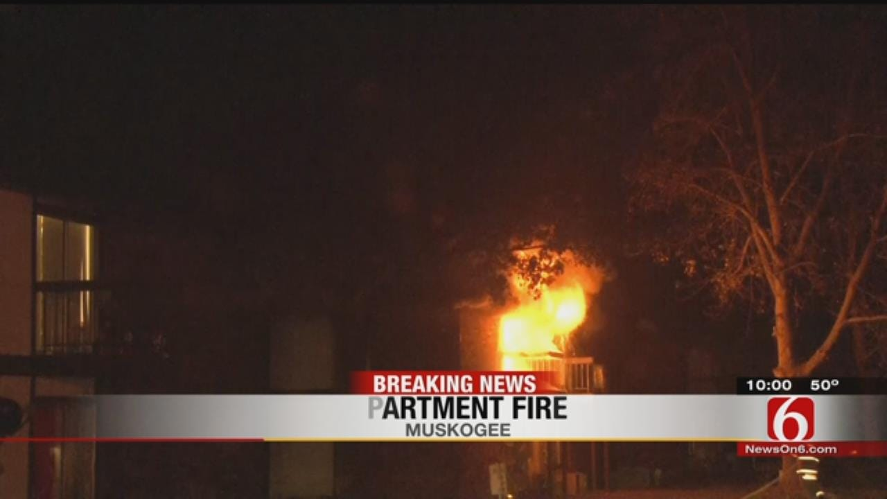 Firefighters Respond To Muskogee Apartment Complex