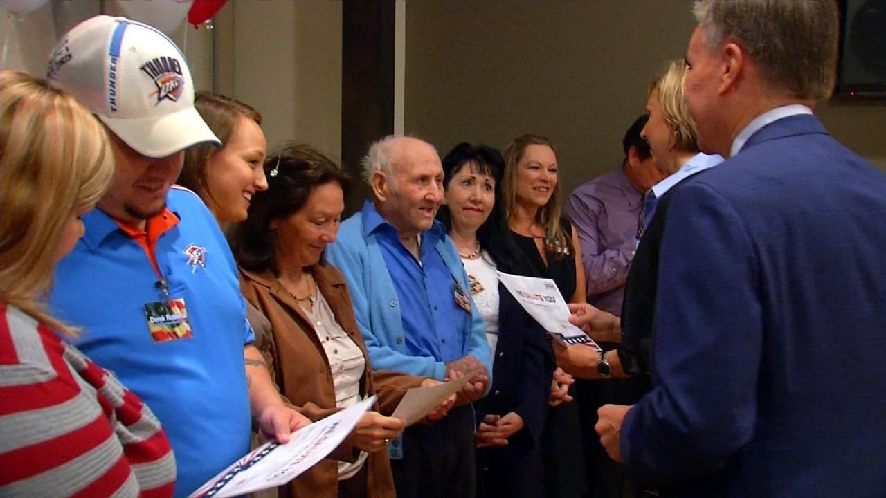 6 In the Morning Honors Oklahoma Veteran Anita Sanders