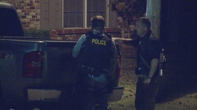 WEB EXTRA: Video From Scene Of South Tulsa Standoff