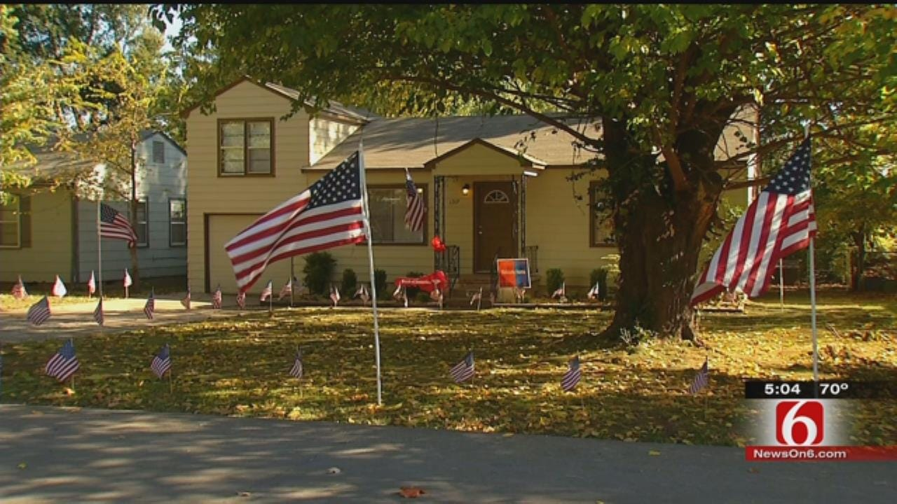 Home Destroyed By Vandals Remodeled, Given To Green Country Veteran