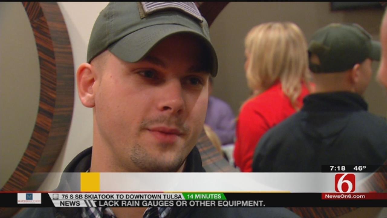 6 In the Morning Honors Oklahoma Veteran Patrick Perry