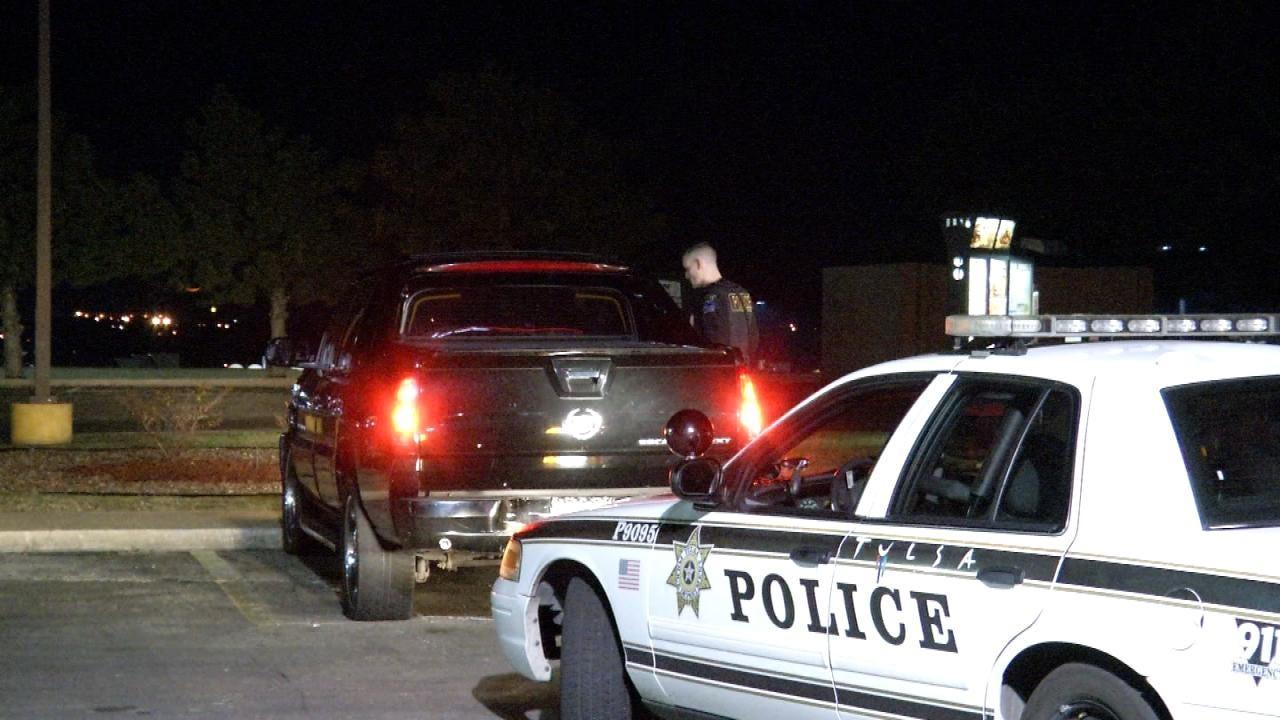 WEB EXTRA: Tulsa Police Investigate Rolling Domestic