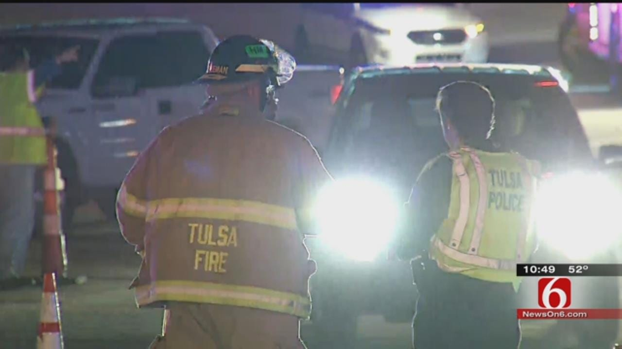 Crews Work For Hours To Repair Natural Gas Leak Near St. Francis