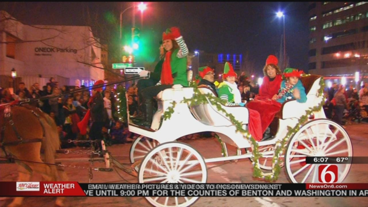 Tulsa Parades Combine, Leave Christmas Controversy Behind