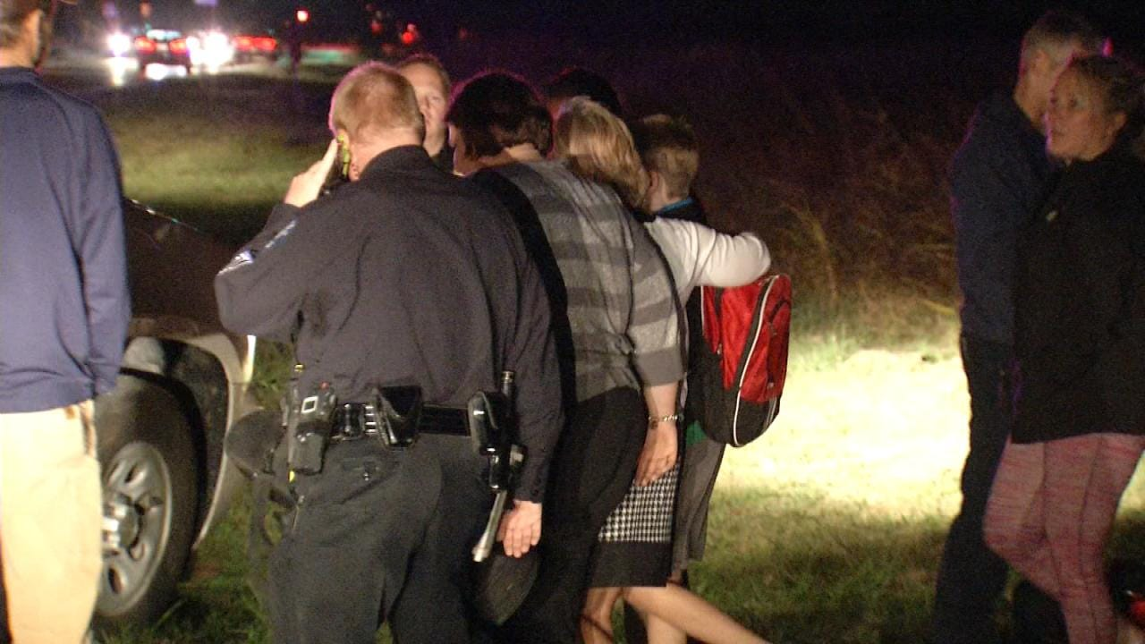 WEB EXTRA: Video From Scene Where Missing Jenks Student Was Found
