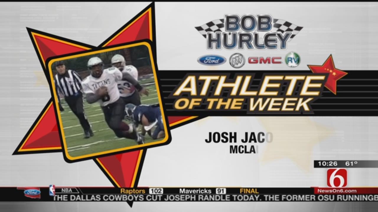 Week 9 Athlete Of The Week