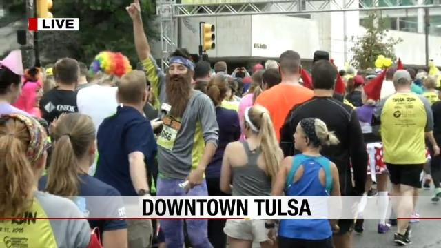Tulsa Run: Live From The Starting Line