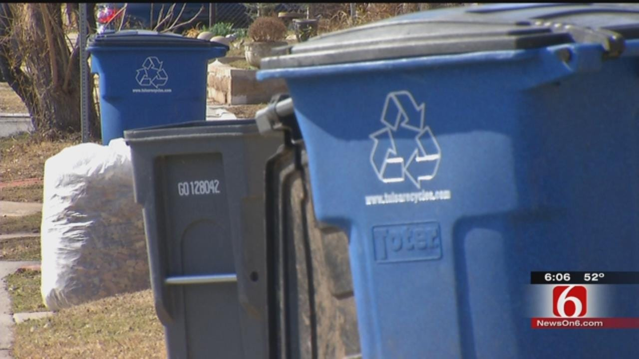 Tulsans Mixing Garbage With Recycling Waste, Audit Shows