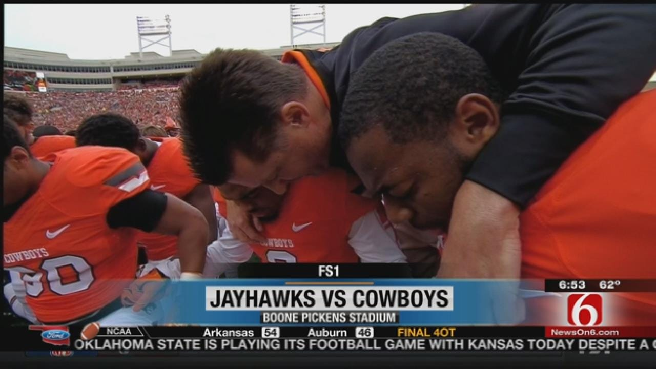 In The Wake Of Tragedy: OSU Comes Together To Top KU After Devastation