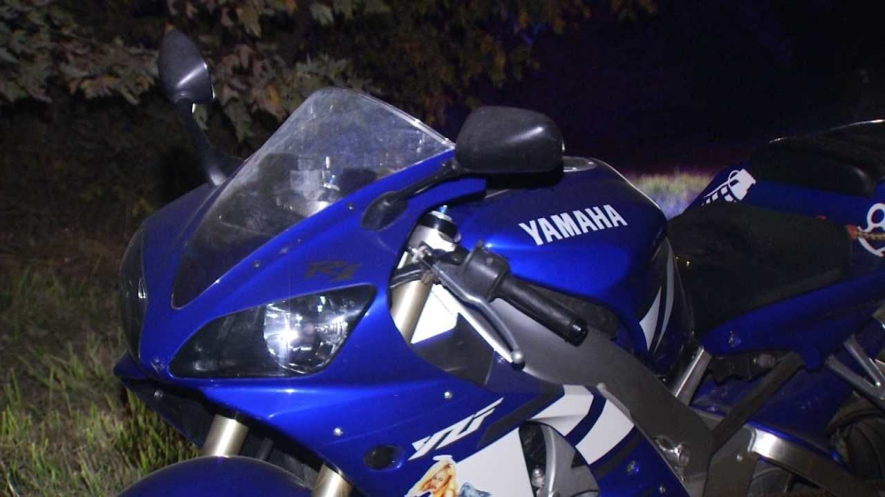 WEB EXTRA: Motorcyclist Arrested In Okmulgee County