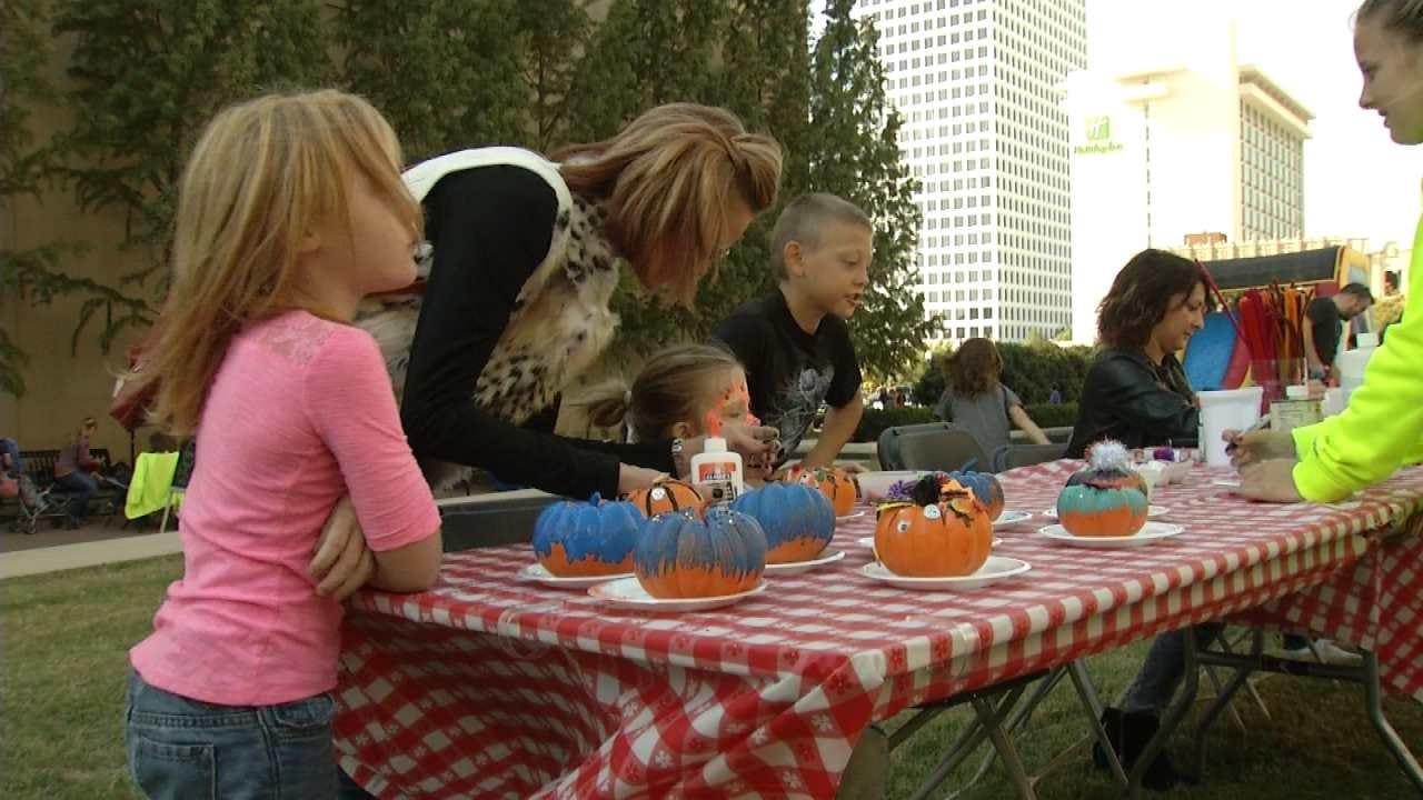 WEB EXTRA: Tulsa Restaurant Group Holds Fall Festival