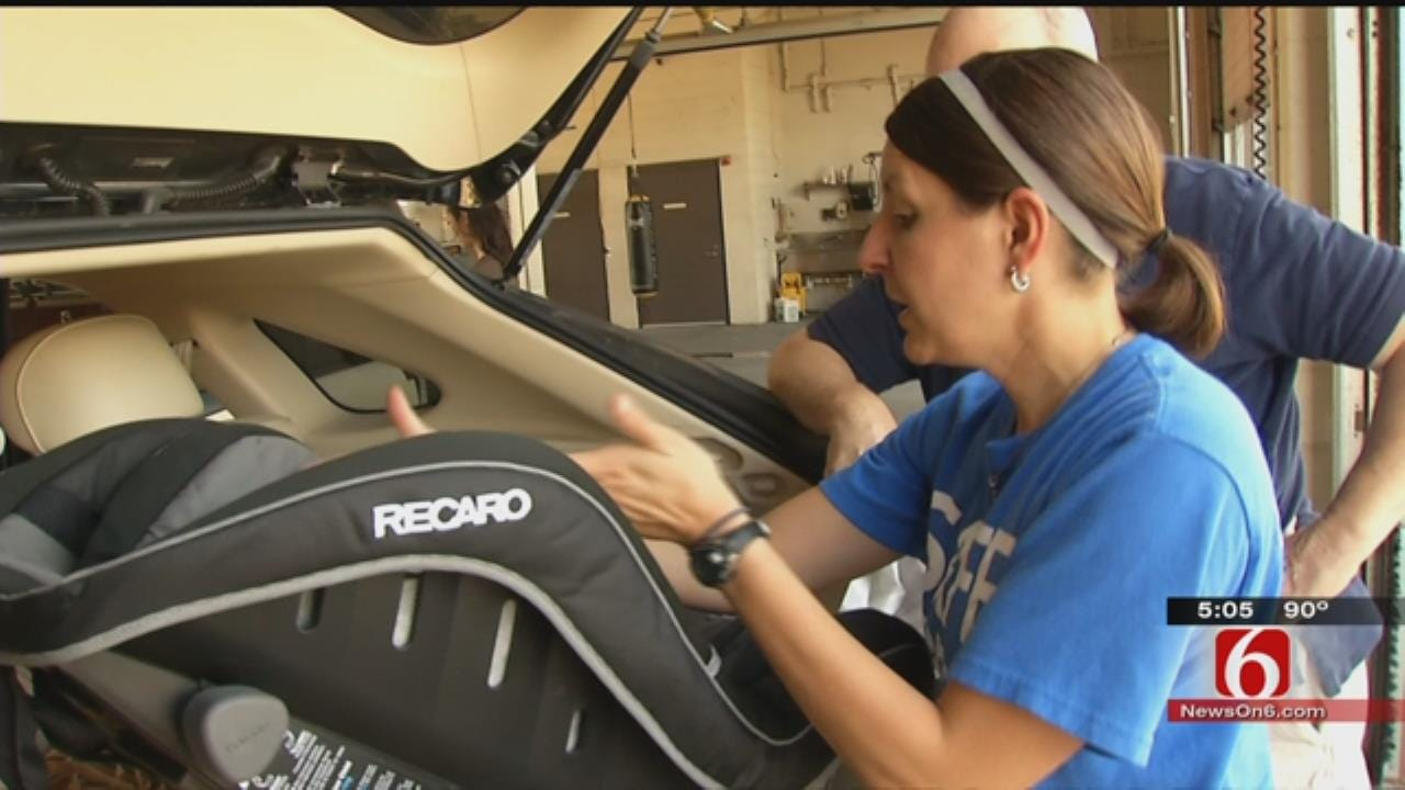 State Tightens Rules For Kids, Car Seats
