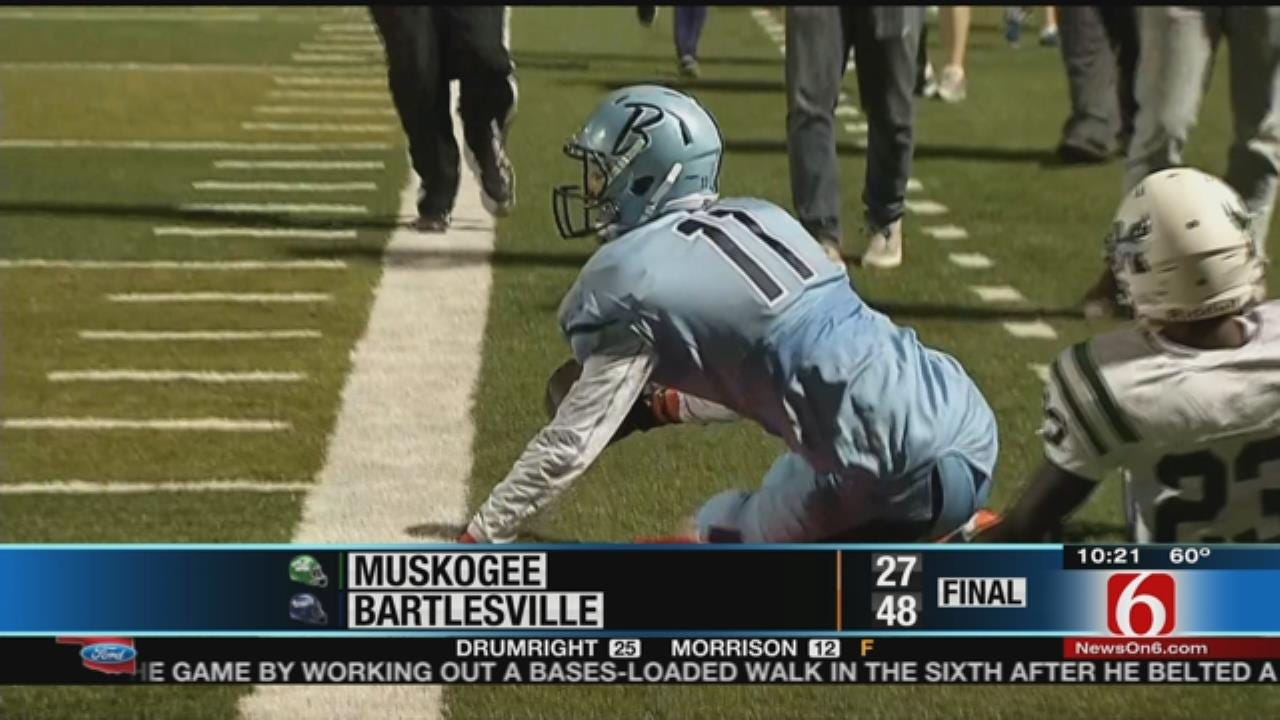 6-0: Bartlesville Beats Muskogee, 48-27