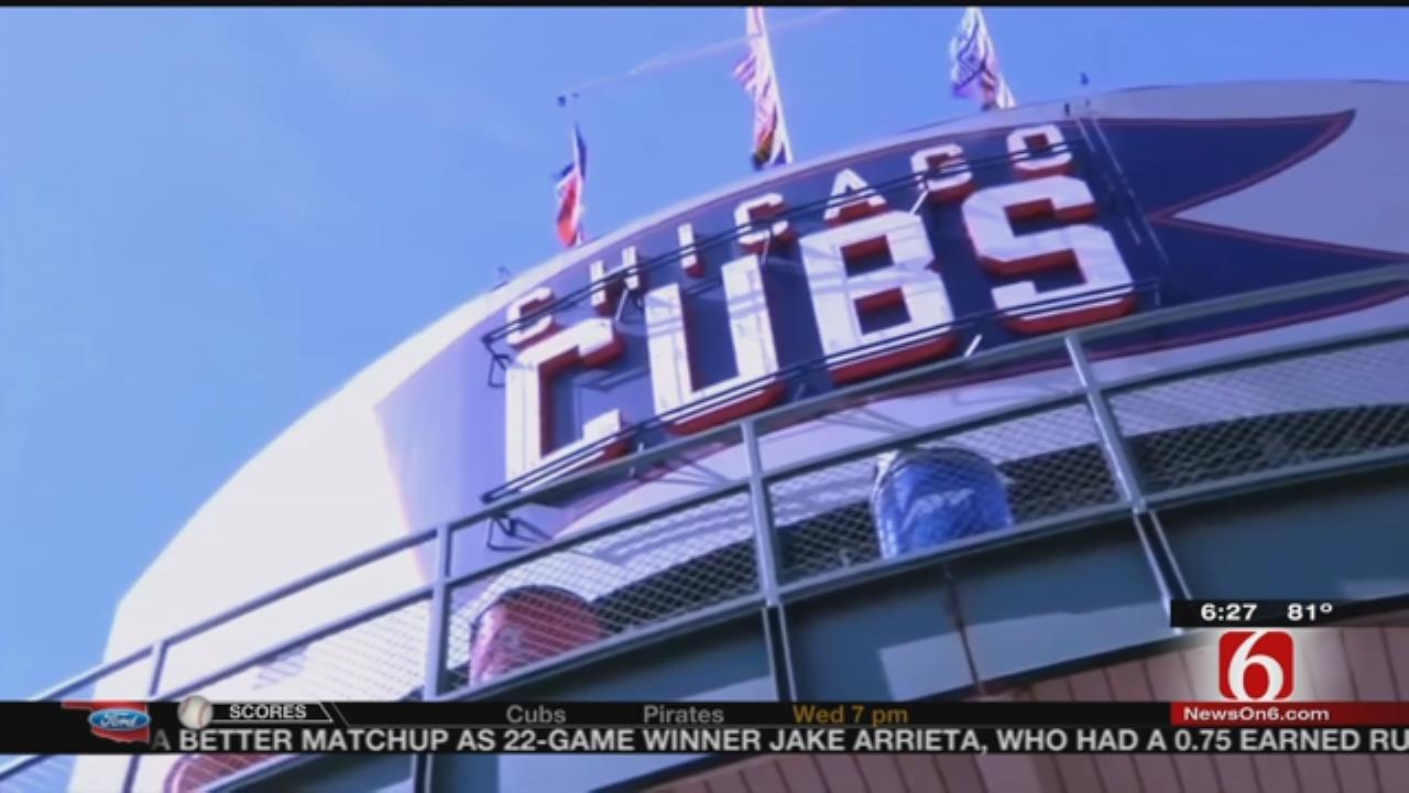 Tulsa Native, Former Cubs Player Rick Wrona Talks Past, Present Chicago Team