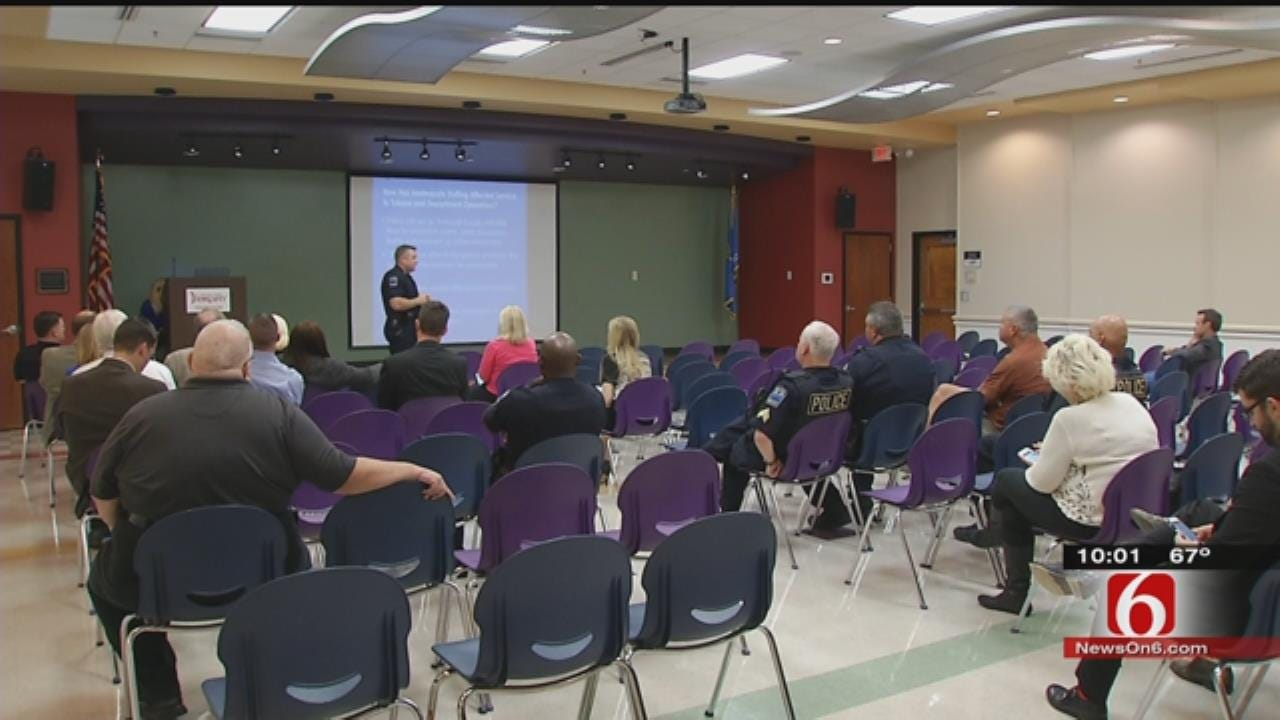 Tulsa Police Officers See Trend Of Teens Involved In Violent Crimes