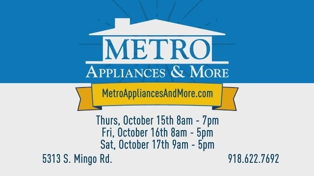 Metro Appliances and More Clearance - Oct 2015