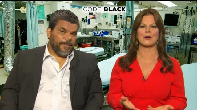 Stars Of CBS' New Series 'Code Black' Talk With LeAnne Taylor