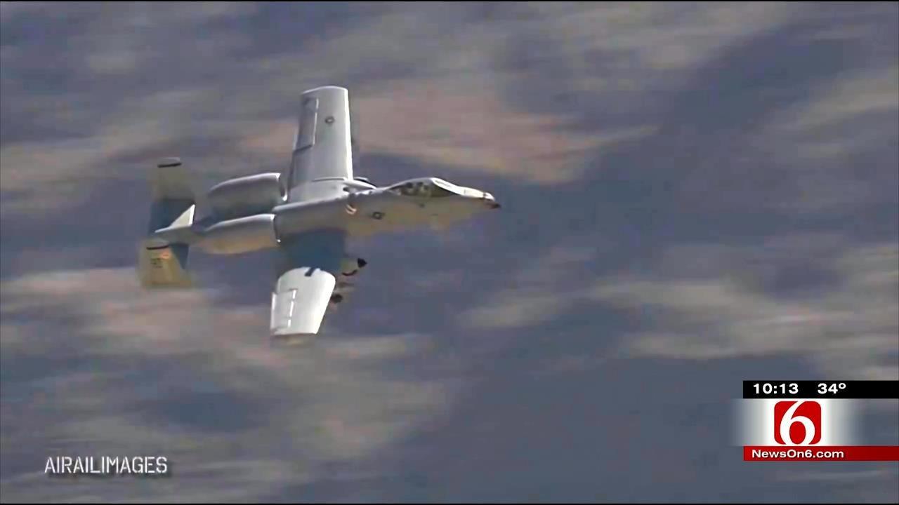 A-10 Warthog To Take On Oklahoma's Thunderstorms