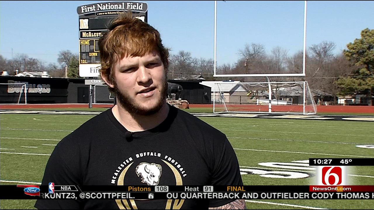 McAlester QB Overcomes Health Issues On His Journey To Becoming A Sooner