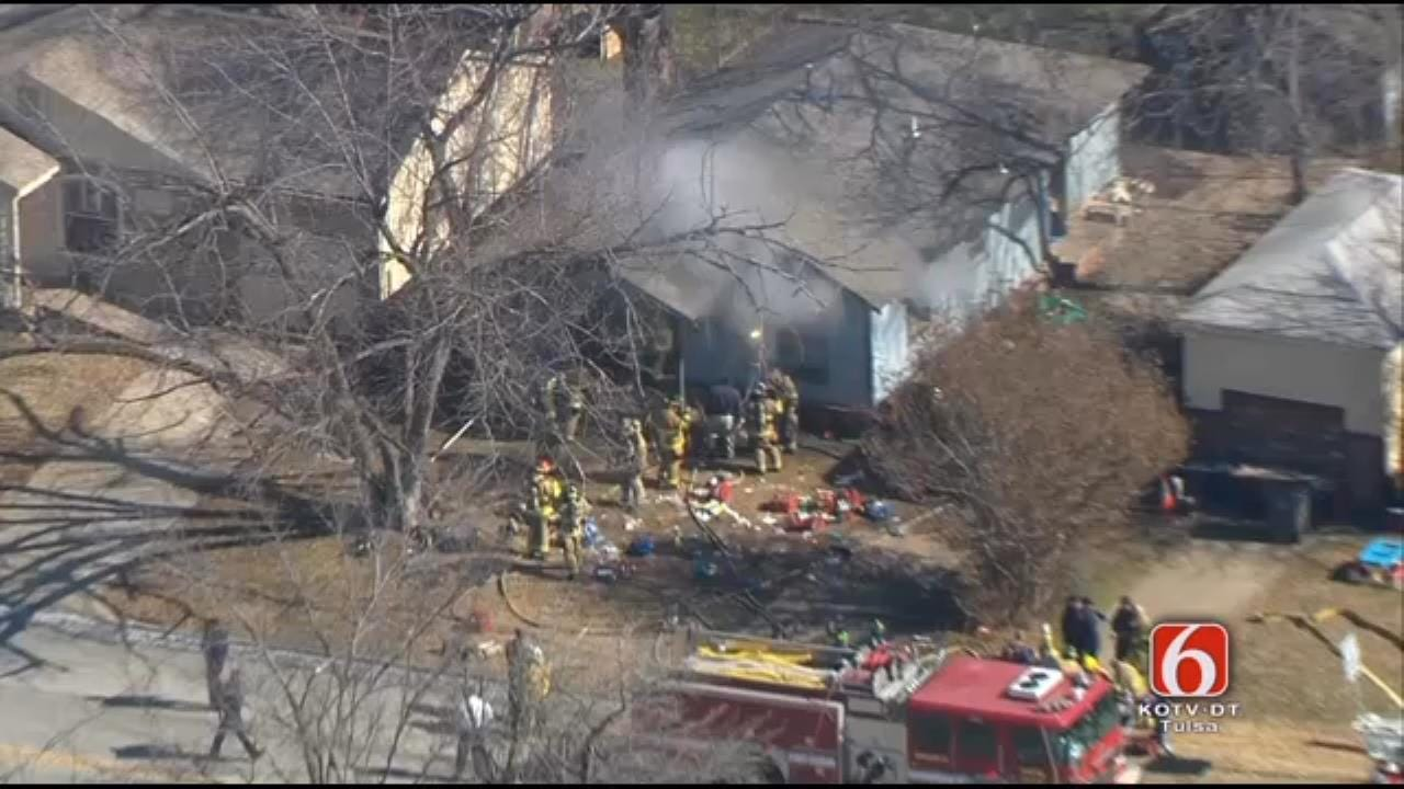 WEB EXTRA: Pilot Will Kavanagh Reports On House Fire From Osage SkyNews 6 HD