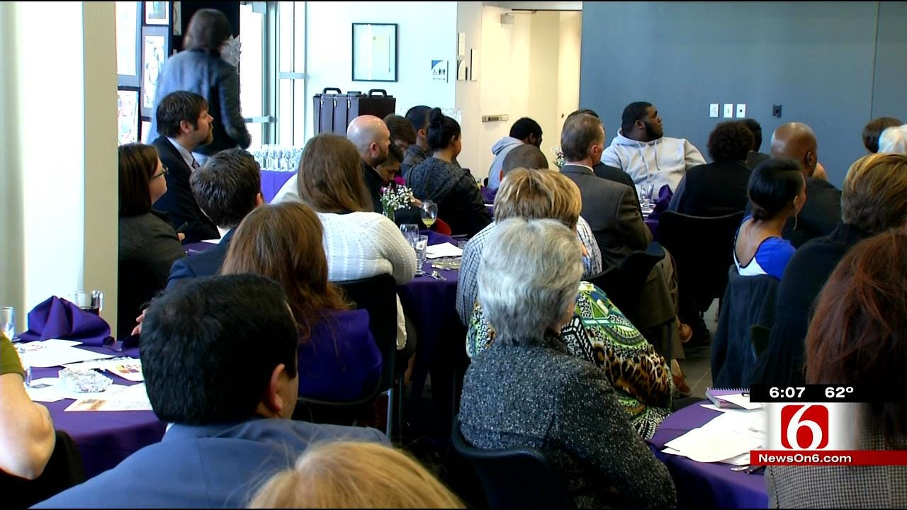 Donation Brings Big Boost To Tulsa Elementary Mentor Program