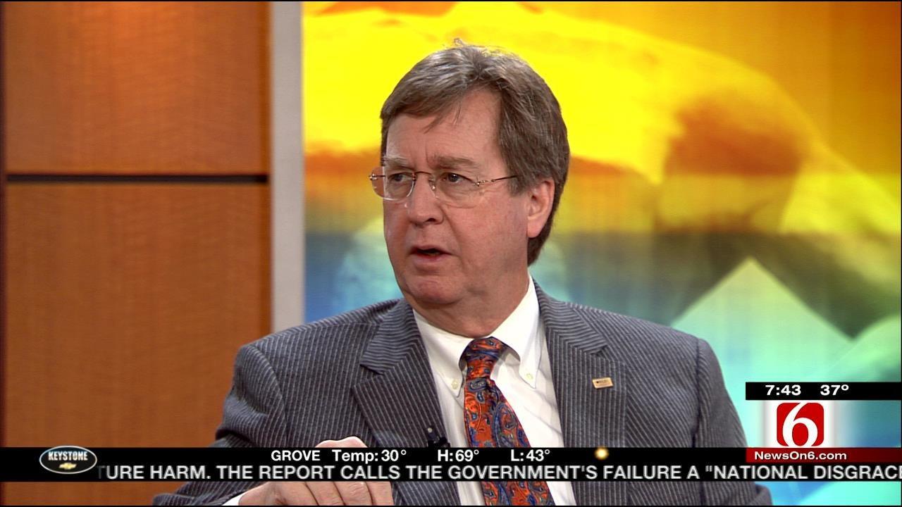 Tulsa Mayor Dewey Bartlett Talks Oil Prices And Oklahoma Jobs