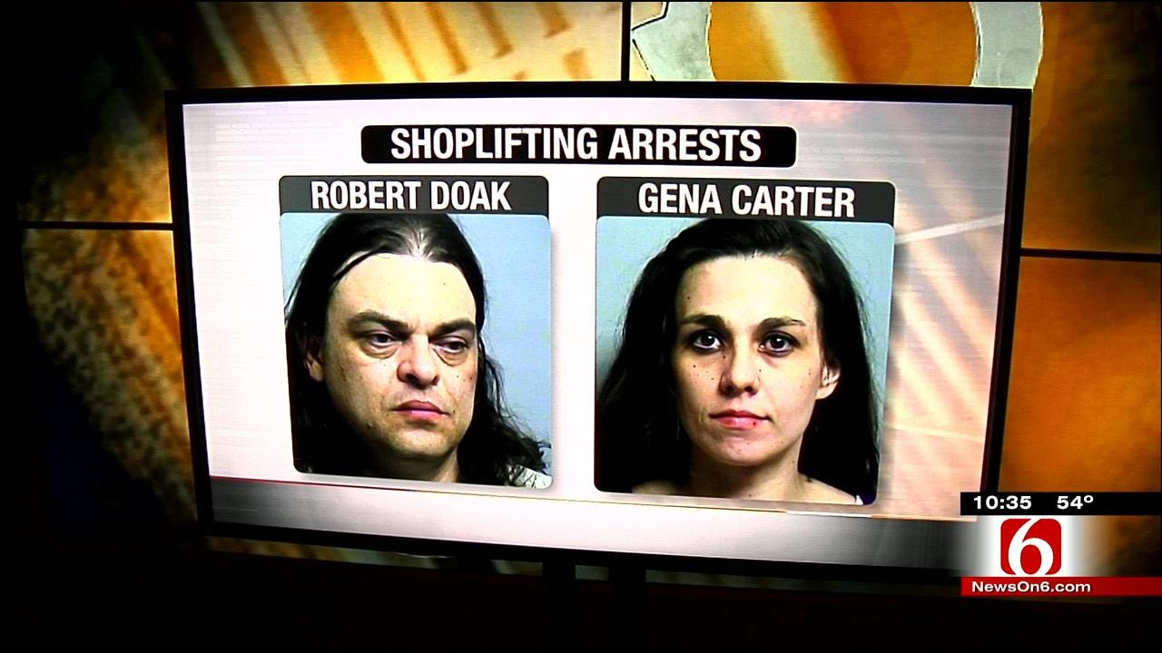 Tulsa Police: Shoplifter Endangers Baby While Trying To Escape Mall