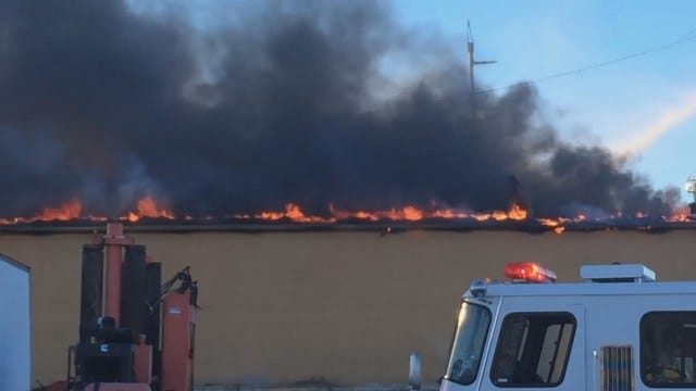 WEB EXTRA: Viewer Video Of Interstate Inn Fire