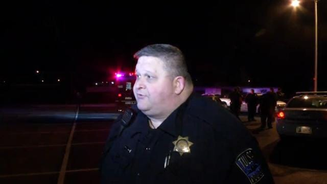 WEB EXTRA: Tulsa Police Cpl. R.W. Solomon Talks About Stabbing, Burglary Attempt