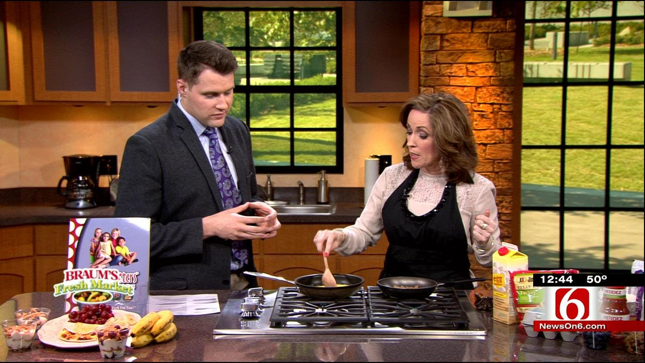 Breakfast Recipe Ideas: Sunrise Tacos & Yogurt Parfaits