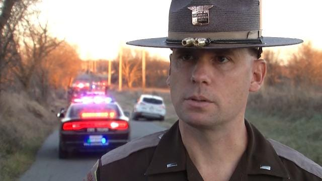 WEB EXTRA: OHP Trooper On Wagoner County Fatality Wreck
