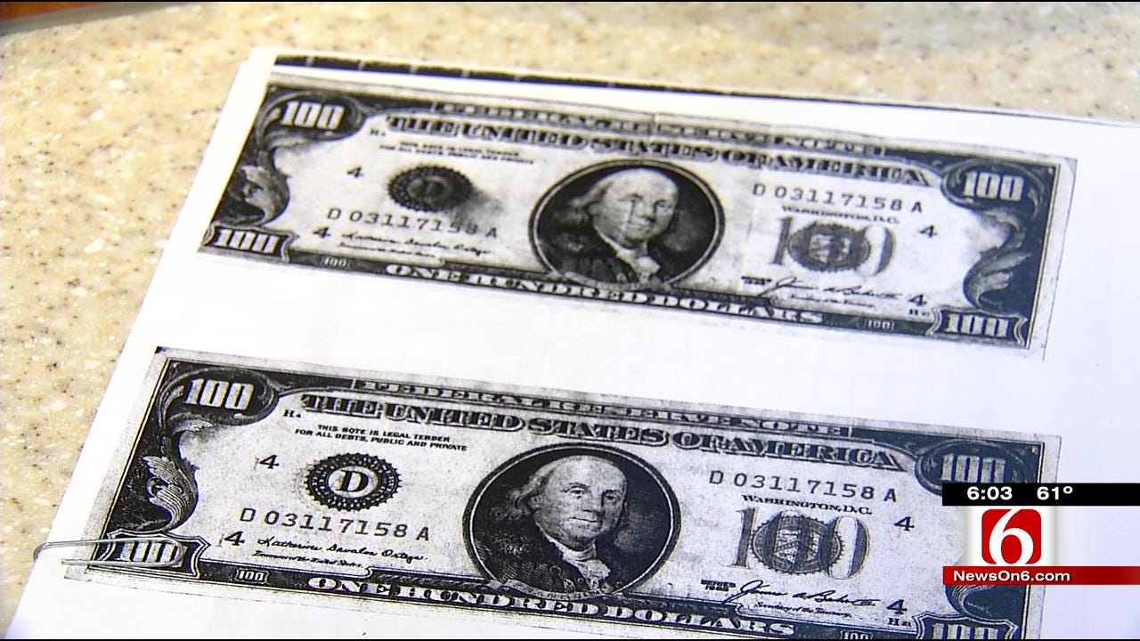 Green Country Counterfeit Money Has Authorities, Businesses On Lookout