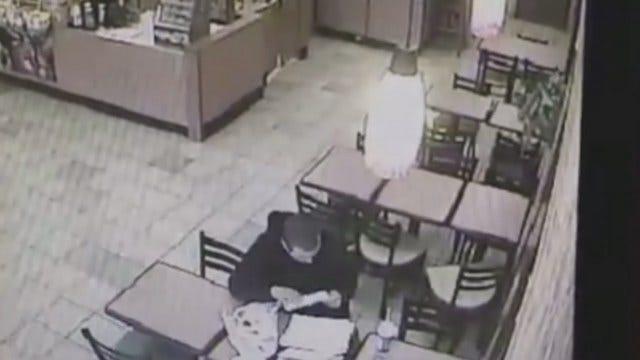 WEB EXTRA: Surveillance Video Of Suspected Thief